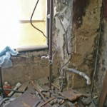Fensterlaibung nach Rückbau